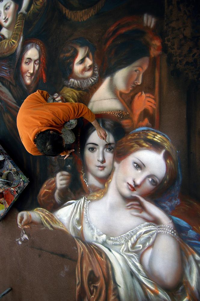 Peinture Antoine Helbert