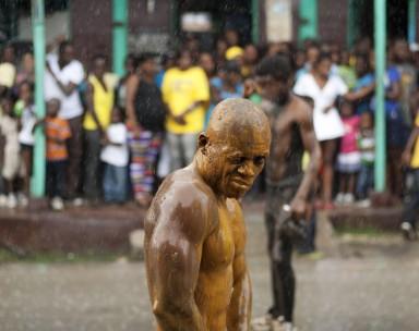 Haïti : Jacmel Carnaval.