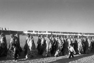 Toutes les composantes de la société Sahraouie défilent les jours de commémorations de la naissance de la RASD