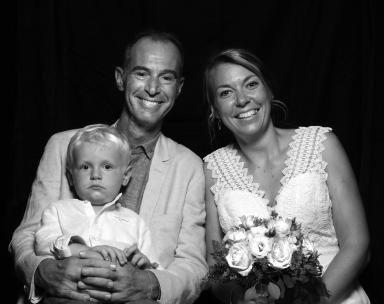 Christophe, Marieke et Noah